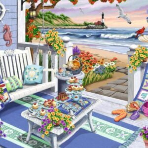 Seaside Sunshine 300 Large Piece Format Puzzle - Ravensburger