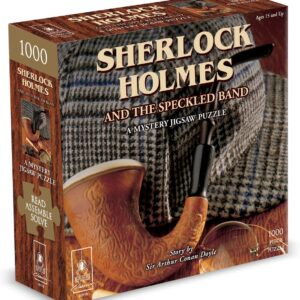 Sherlock Holmes 1000 Piece Puzzle - Bepuzzled
