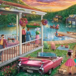 Summer at the Lake 300 Large Piece Format Jigsaw Puzzle - Ravensburger