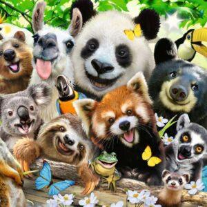 Wildlife Selfie 300 XXL Piece Puzzle - Ravensburger