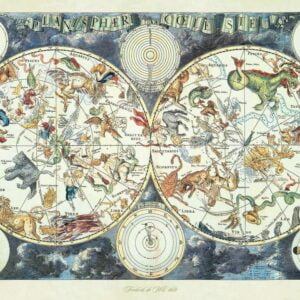 World Map of Fnatastic Beasts 1500 Piece Puzzle - Ravensburger