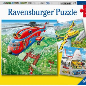 Above the Clouds 3 x 49 Piece Puzzle - Ravensburger