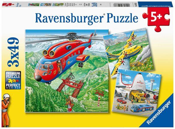 Above the Clouds 3 x 49 Piece Puzzle - Ravensburger