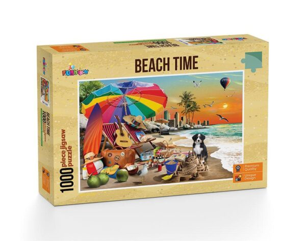 Beach Time 1000 Piece jigsaw Puzzle - Funbox