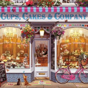 Cups, Cakes & Company 1000 Piece Puzzle - Eurographics