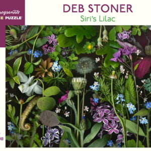 Deb Stoner - Siri's Lilac 1000 Piece Jigsaw Puzzle - Pomegranate