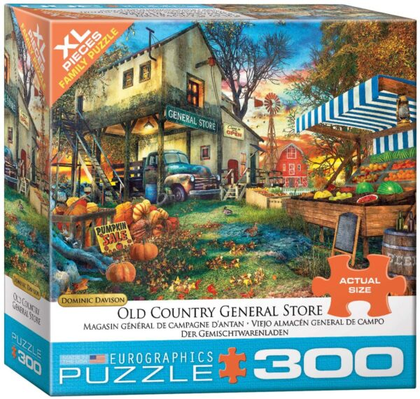 Dominic Davison - Old Country General Store 300 XL Piece Puzzle - Eurographics