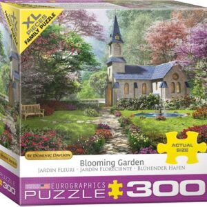 Dominic Davison - The Blooming Garden 300 XL Piece Puzzle - Eurographics