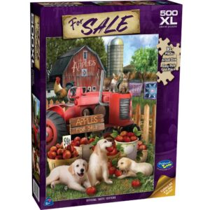 For Sale - Official Taste Testers 500 XL Piece Puzzle - Holdson