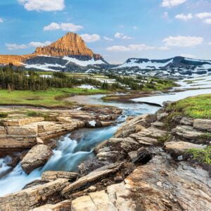 Glacier National Park 1000 Piece Puzzle - Eurographics