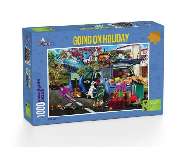 Going on Holiday 1000 Piece Puzzle - Funbox