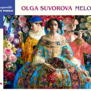 Olga Suvorova - Melody 1000 Piece Puzzle - Pomegranate