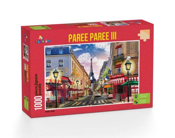 Paree Paree Part III - 1000 Piece Puzzle - Funbox