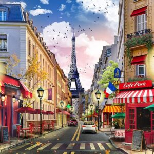Paree Paree Part III - 1000 Piece Puzzle - Funbox