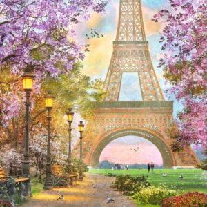 Paris Romance 1500 Piece Puzzle - Ravensburger