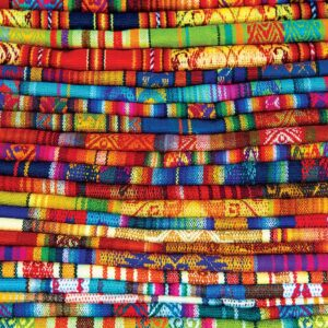 Peruvian Blankets 1000 Piece Puzzle - Eurographics