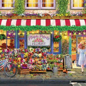 Plush Petals Flower Shop 1000 Piece Puzzle - Eurographics