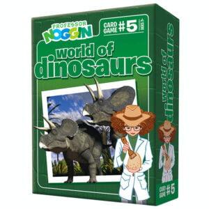 Professor Noggin - World of Dinosaurs Card Game