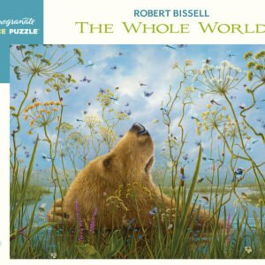 Robert Bissell - The Whole World 1000 Piece Jigsaw Puzzle - Pomegranate