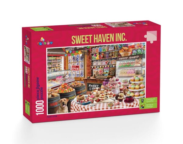Sweet Haven Inc 1000 Piece Puzzle - Funbox