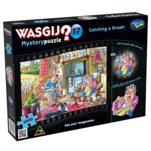Wasgij Mystery 17 Catching a Break 1000 Piece Puzzle - Holdson