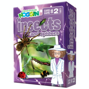 Professor Noggins - Insects and Spiders Card Game