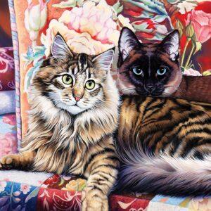 Cat*Ology - Raja and Mulan 1000 Piece Puzzle - Masterpieces