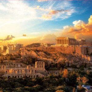 Acropolis of Athens 1000 Piece Puzzle - Educa