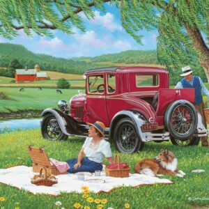 At One with Nature - Far from the Crowd 1000 Piece Puzzle - Holdson
