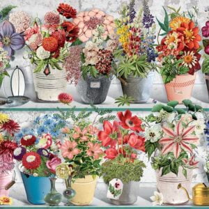 Beaucoup Bouquet 1000 Piece Jigsaw Puzzle - Cobble Hill