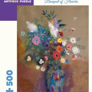 Bouquet of Flowers 500 Piece Puzzle - Pomegranate