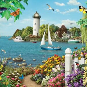 By the Bay 500 Piece Jigsaw Puzzle - Cobble Hill