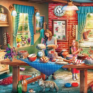 Childhood Dreams - Baking Bread 1000 Piece Puzzle - Masterpieces