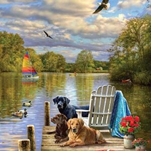 Dog Day Afternoon 1000 Piece Jigsaw Puzzle - Cobble Hill