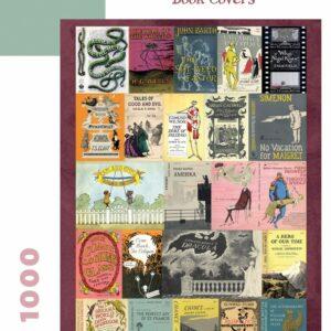 Edward Gorey's Book Covers 1000 Piece Puzzle - Pomegranate