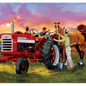 Farmall Horsepower 1000 Piece Panoramic Puzzle - Masterpieces