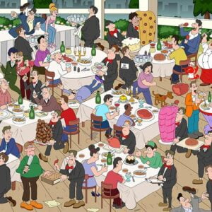 Fine Dining 1000 Piece Jigsaw Puzzle - Funbox