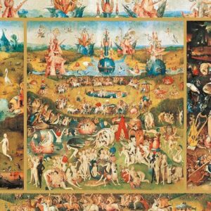 Garden of Earthly Delights 2000 Piece Puzzle - Educa