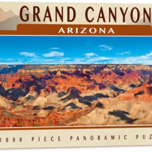 Grand Canyon Arizona Panoramic 1000 Piece Puzzle - Masterpieces