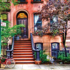Greenwich Village New York 1500 Piece Jigsaw Puzzle - Educa