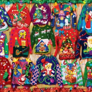 Holiday Sweaters 1000 Piece Jigsaw Puzzle - Masterpieces