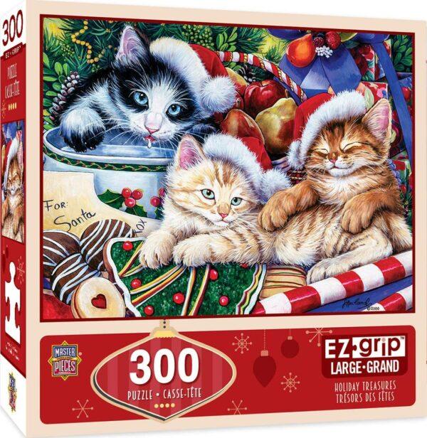 Holiday Treasures 300 Piece EZ Grip Puzzle - Masterpieces
