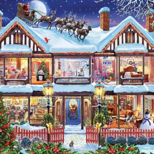 Home for the Holidays 1000 Piece Puzzle - Masterpieces