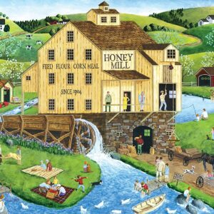 Hometown Gallery - Honey Mill 1000 Piece Jigsaw Puzzle - Masterpieces
