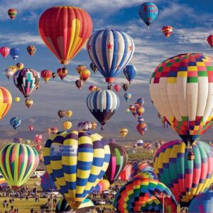 Hot Air Balloons 1500 Piece Jigsaw Puzzle - Educa