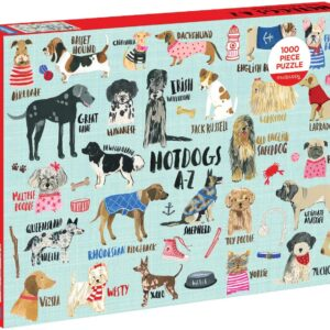 Hot Dogs 1000 Piece Puzzle - Mudpuppy