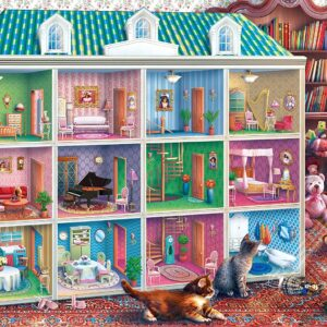 Inside Out - Sophie's Dollhouse 1000 Piece Puzzle - Masterpieces