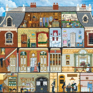 Inside Out - Walden's Manor House 1000 Piece Puzzle - MasterPieces