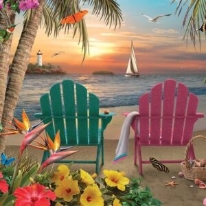 Island Paradise 500 Piece Jigsaw Puzzle - Cobble Hill