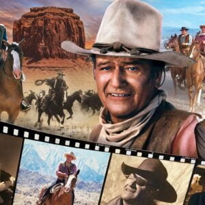 John Wayne - Legend of the Silver Screen 1000 Piece Puzzle - Masterpieces